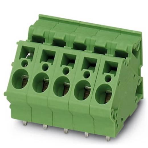 Veerkachtklemblok 4.00 mm² Aantal polen 1 ZFKDS 4 /7,5 Phoenix Contact Groen 50 stuks