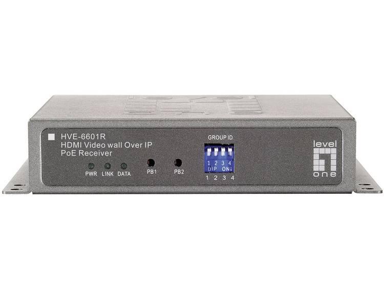 LevelOne HVE-6601R Digital Signage PoE-receiver IEEE 802.3af (12.95 W)