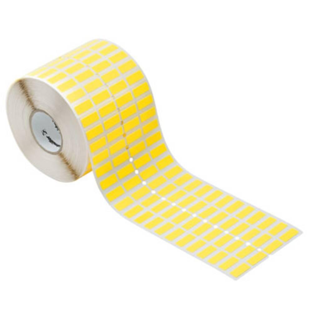 Weidmüller 1059880000 THM GEW 20/8 GE Märkningsystem skrivare Monteringsmetod: Limning Utskriftsområde: 8 x 20 mm Gul Antal märkningar: 10000 1 st