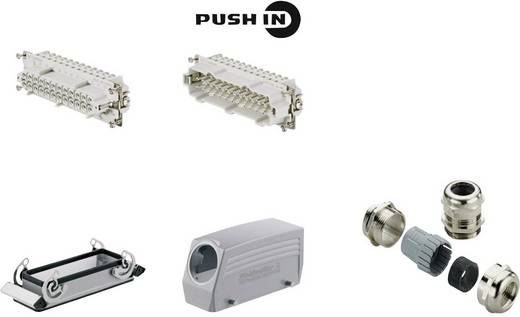 Weidmüller 1061780000 Stekkerverbinder-set RockStar HDC HE 1 stuks