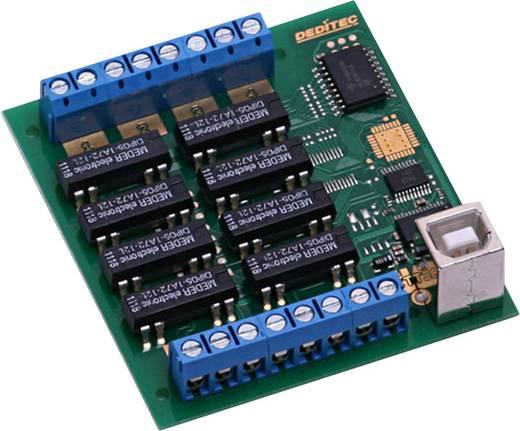 Deditec USB-RELAIS-8_A Uitgangsmodule USB Aantal relaisuitgangen: 8