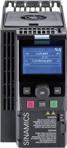 Frequentieregelaar Siemens SINAMICS G120C 1.1 kW 3-fasig 400 V