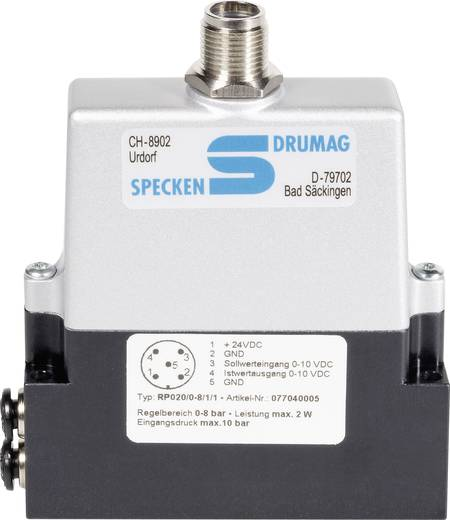 Specken Drumag RP020/0-8/1/1 Drukregelaar 0 tot 8 bar