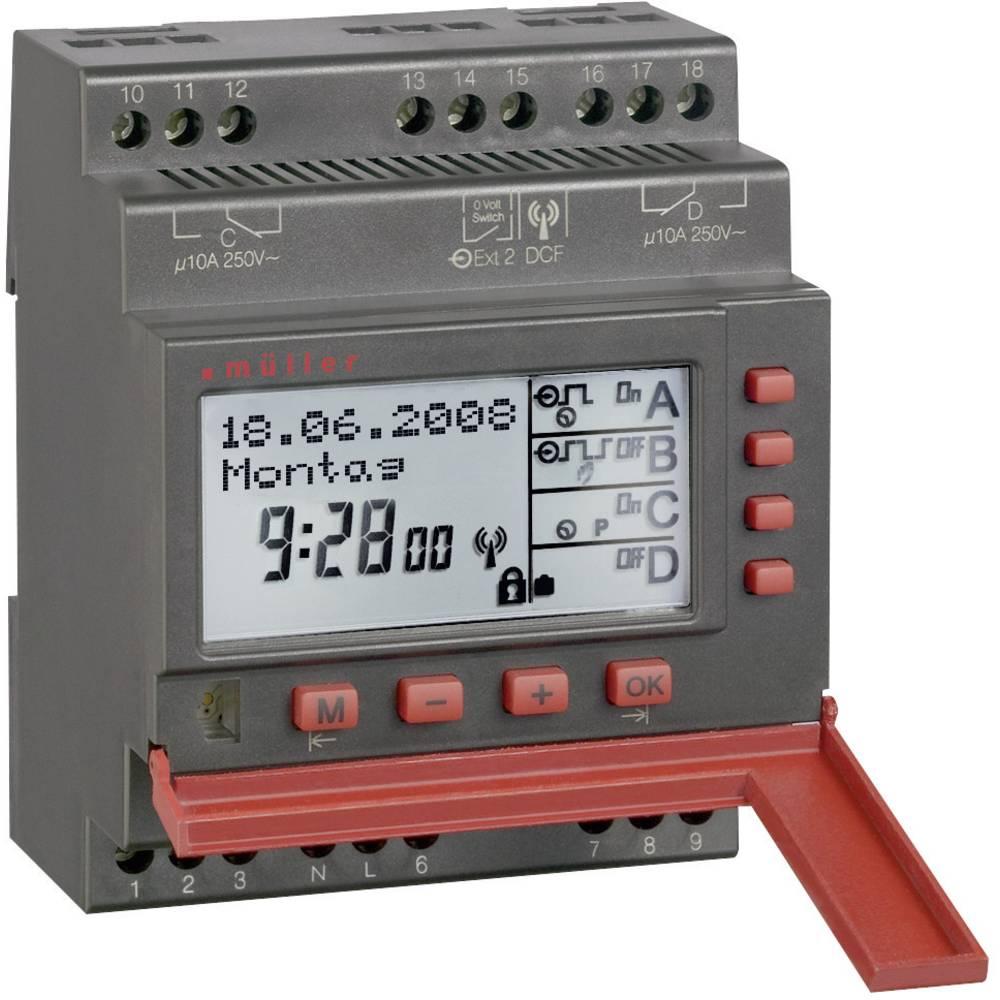 Müller SC 88.40 pro Digitalt kopplingsur digital 230 V/AC 10 A/250 V