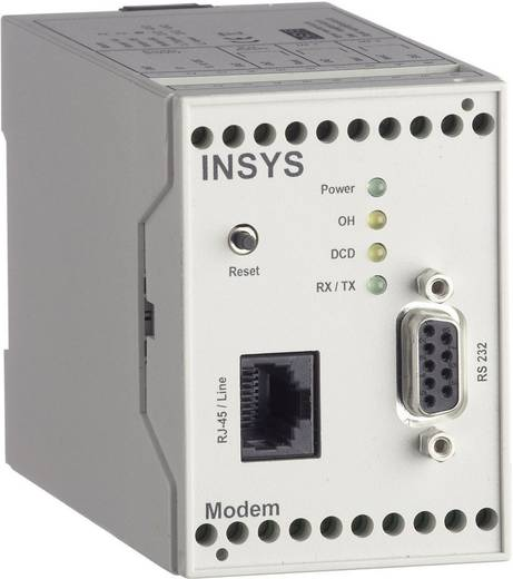 INSYS Modem 56k 4.x Int. 10 - 60 V/DC Interface(s) RS232
