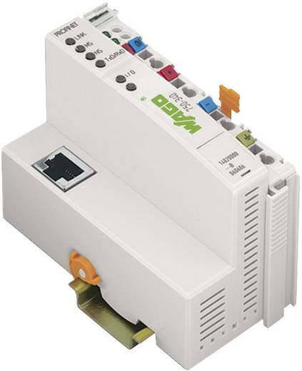 WAGO 750-340 PLC-busaansluiting 24 V/DC