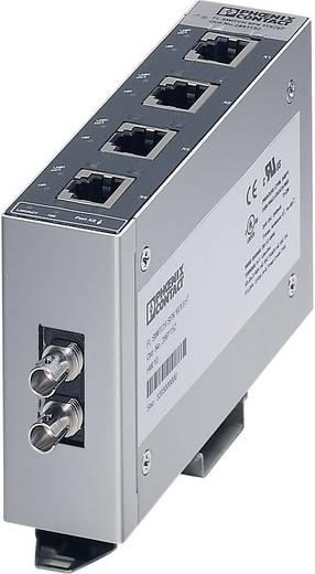 Industriële switch unmanaged Phoenix Contact FL SWITCH SFN 4TX/FX ST Aantal ethernet-poorten 4 1 LAN-overdrachtsnelheid 100 Mbit/s Voedingsspanning (num) 24 V/DC