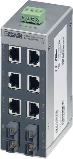 Industriële switch unmanaged Phoenix Contact FL SWITCH SFN 6TX/2FX Aantal ethernet-poorten 6 2 LAN-overdrachtsnelheid 10