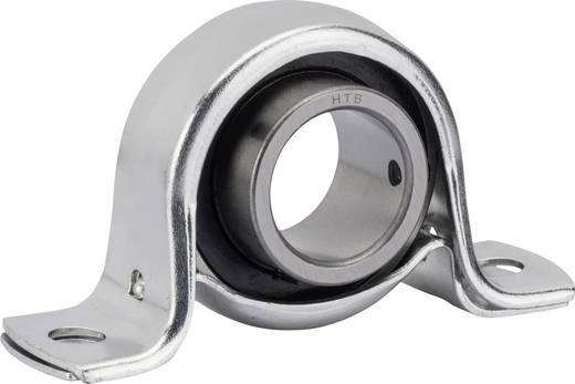 UBC Bearing SBPP 204 Staand lager Plaatstaal Boordiameter 20 mm Gatafstand 76 mm