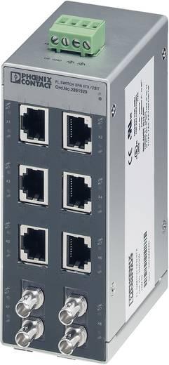 Industriële switch unmanaged Phoenix Contact FL SWITCH SFN 6TX/2FX ST Aantal ethernet-poorten 6 2 LAN-overdrachtsnelheid 100 Mbit/s Voedingsspanning (num) 24 V/DC