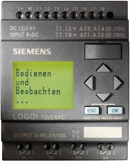 Siemens LOGO! 12/24RC PLC-aansturingsmodule 6ED1052-1MD00-0BA6 12 V/DC, 24 V/DC