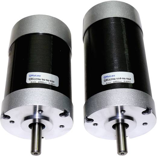Trinamic BLDC-motor QBL5704-116-04-042 QBL5704-116-04-042 51-0003 36 V= Stopmoment 0.42 Nm Fasestroom (max.) 6.6 A