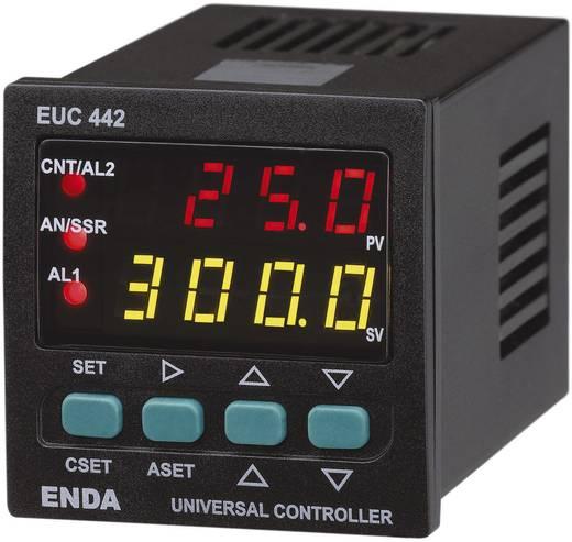 Enda EUC442 Temperatuurregelaar PID J, K, T, S, R, Pt100 -200 tot +1600 °C Relais 2 A, SSR, Analoge stroom (l x b x h) 105 x 48 x 48 mm