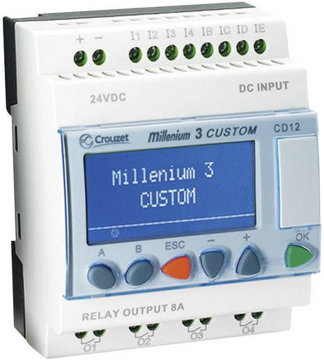 Crouzet Millenium 3 Smart CD12 R PLC-aansturingsmodule 88974041 24 V/DC