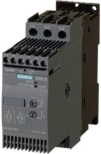 Soft starter Siemens Motorvermogen bij 400 V 5.5 kW Motorvermogen bij 230 V 3 kW 400 V/AC Nominale stroom 12.5 A 3RW3017