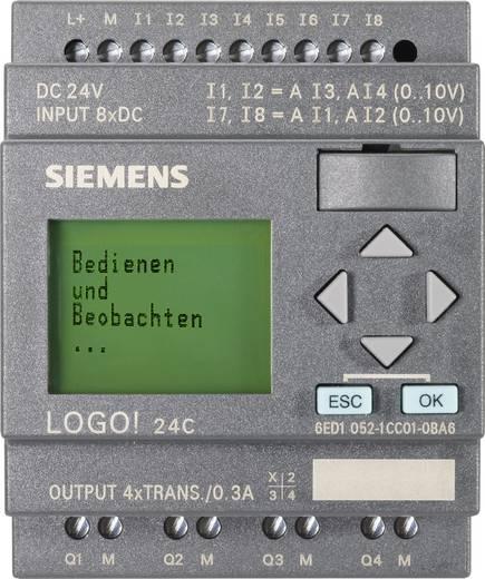 Siemens LOGO! 0BA6 24C PLC-aansturingsmodule 6ED1052-1CC01-0BA6 24 V/DC