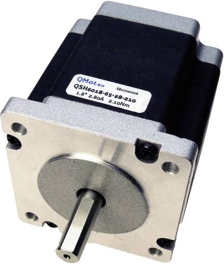 Trinamic QMot hybride stappenmotoren 1,8° QSH6018-86-28-310 QSH6018-86-28-310 0 - 84 V= Stopmoment 3.10 Nm Fasestroom (m