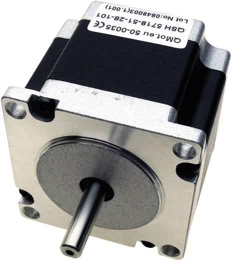 Trinamic QMot hybride stappenmotoren 1,8° QSH5718-41-28-055 50-0034 0 - 75 V= Stopmoment 0.55 Nm Fasestroom (max.) 2.8 A