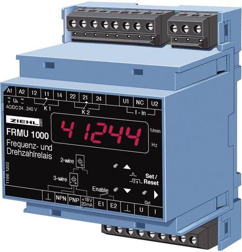 Ziehl FR 1000 Snelheidsbewaking Aantal relaisuitgangen: 2