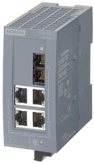 Industriële switch unmanaged Siemens SCALANCE XB004-1LDG Aantal ethernet-poorten 4 1 LAN-overdrachtsnelheid 10 / 100 / 1000 Mbit/s Voedingsspanning (num) 24 V/DC
