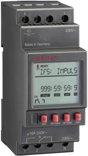 Digitaal tijdrelais Digitaal Müller MR 28.10 pro 230 V/AC, 24 V DC/AC 16 A/250 V
