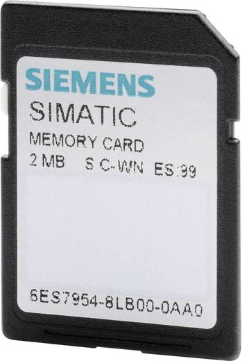 Siemens SIMATIC S7 Memory Card PLC-geheugenmodule 6ES7954-8LC02-0AA0