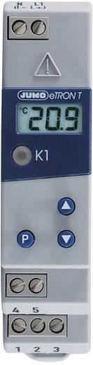 Jumo eTRON T Temperatuurregelaar KTY -200 tot +600 °C Relais 10 A (l x b x h) 90 x 22.5 x 61.6 mm