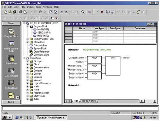 Siemens STEP 7-Micro/WIN V4 PLC-software 6ES7810-2CC03-0YX0