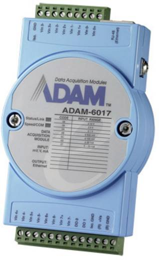 Advantech ADAM-6017 Ingangsmodule Analog Aantal ingangen: 8 x 12 V/DC, 24 V/DC