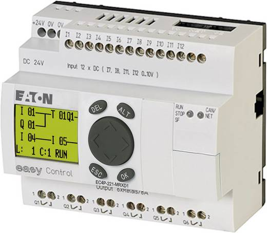 Eaton Easy control PLC-aansturingsmodule EC4P-221-MRXD1 106393 24 V/DC