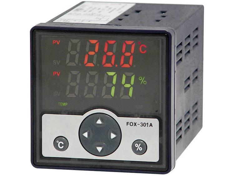 FOX 301 vocht- en temperatuurregelaar 230 V-AC Uitgang (ampère) 4 Rel. 250 V-AC-3 A Inbouwmaten 68 x