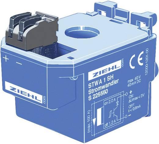 Ziehl Stroomtransformator STWA 1 H geen aparte stroomverzorging nodig Meetingangen 2 A/AC Uitgangen LED