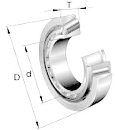 UBC Bearing L44649 / L44610 Kegellager met een enkele rij, inch maat DIN720 Boordiameter 26.988 mm Buitendiameter 50.292 mm Toerental (max.) 6600 omw/min