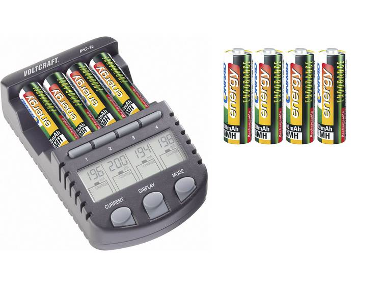 VOLTCRAFT IPC-1L Batterijlader AAA (potlood), AA (penlite)