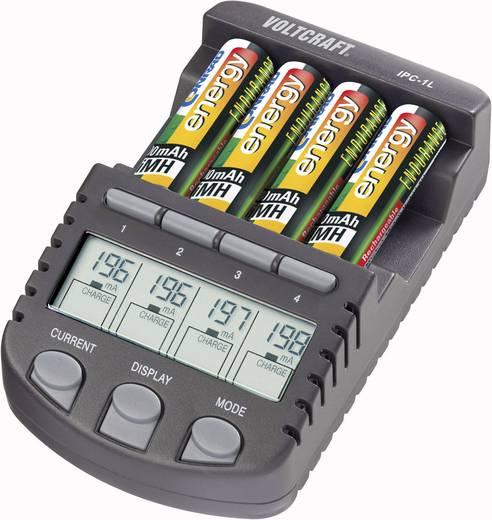 Batterijlader AAA (potlood), AA (penlite) - VOLTCRAFT IPC-1L Incl. oplaadbare batterijen