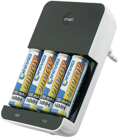 VOLTCRAFT BC450 Batterijlader NiMH AAA (potlood), AA (penlite)