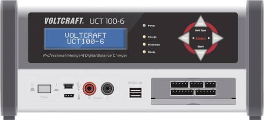 VOLTCRAFT UCT 100-6 Modelbouw oplader NiCd, NiMH, Loodzuur, Loodgel, Loodvlies, Li-ion, Li-poly, LiFePO