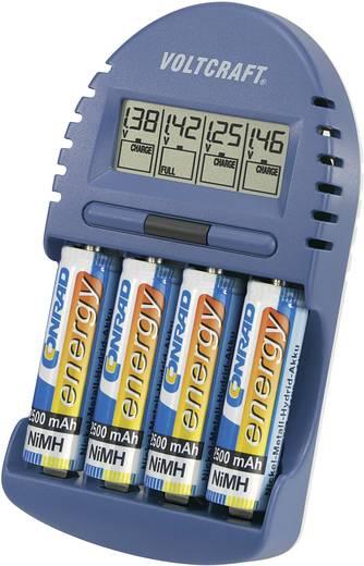 VOLTCRAFT BC-500 Batterijlader NiMH AAA (potlood), AA (penlite)