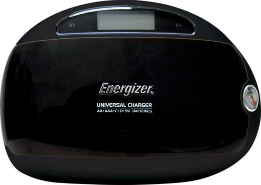 Energizer Universal Charger - Batterijlader NiMH AAA (potlood), AA (penlite), C (baby), D (mono), 9 V (blok)