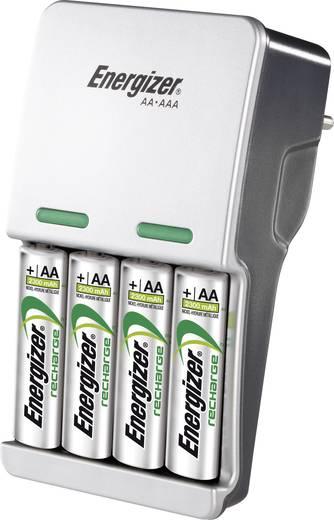 Energizer Compact Charger Batterijlader NiMH Incl. oplaadbare batterijen AAA (potlood), AA (penlite)