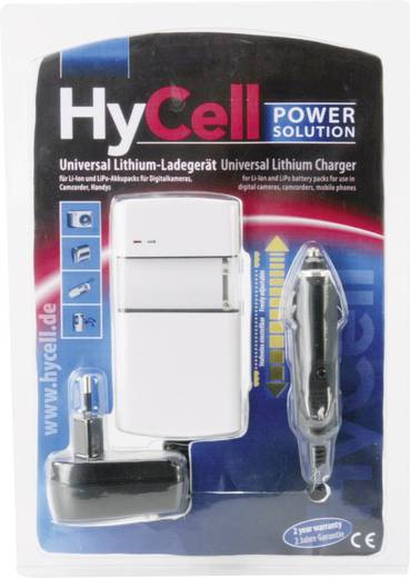 Ansmann Universele lithium oplader HyCell 5025143-510 Hycell Lilon, LiPo.