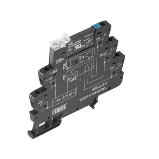 Weidmüller TOS 12VDC 230VAC1A Halfgeleiderrelais 10 stuks Laadstroom (max.): 1 A Schakelspanning (max.): 250 V/AC
