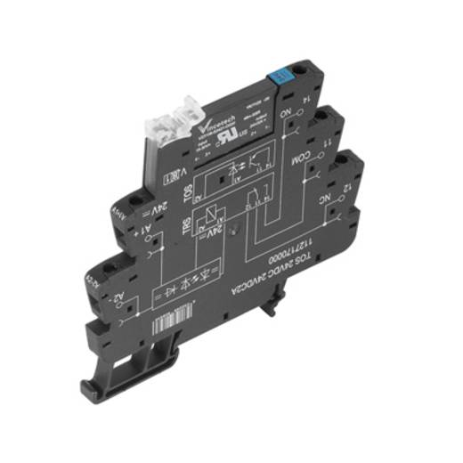 Weidmüller TOS 12VDC 24VDC2A Halfgeleiderrelais 10 stuks Laadstroom (max.): 2 A Schakelspanning (max.): 33 V/DC