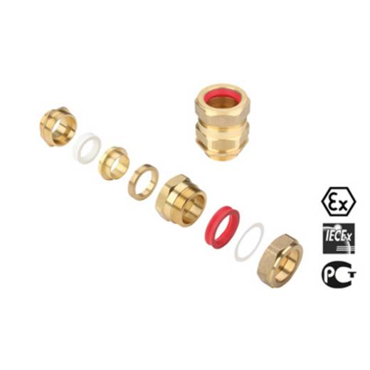 Wartel M50 Messing Messing Weidmüller KDSX M20 BS O NI 1 G20S 20 stuks