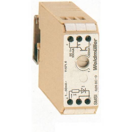 Stroomomvormer SMSI EG3 0.05DCO 1-50MA Fabrikantnummer 1157160000WeidmüllerInhoud: 1 stuks