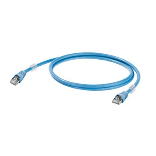 Weidmüller RJ45 Netwerk Aansluitkabel CAT 6 S/FTP 0.50 m Blauw UL gecertificeerd