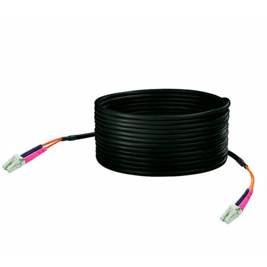 Kabel Weidmüller Glasvezel [1x ST-stekker - 1x ST-stekker] 50/125µ 30 m