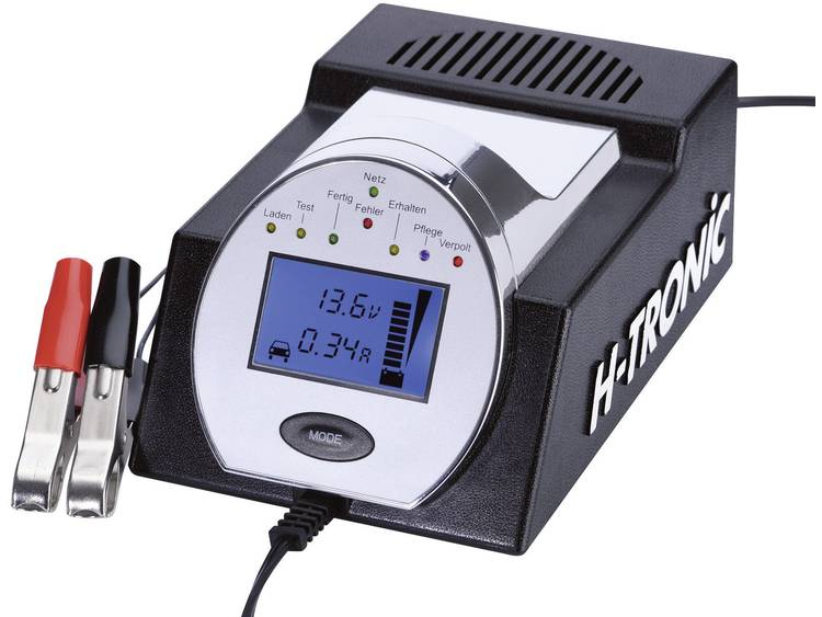 H-Tronic Loodacculader HTDC 5000, 3-in-1 1242500 HTDC 5000 loodacculader voor Loodgel, Loodzuur, Loo