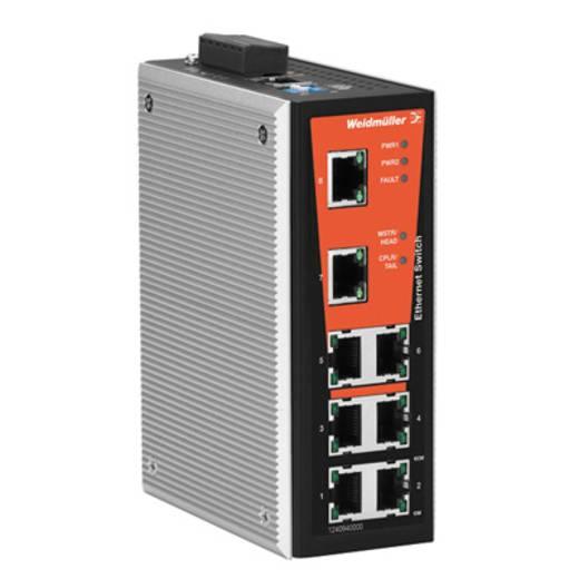 Industriële switch managed Weidmüller IE-SW-VL08MT-8TX Aantal ethernet-poorten 8