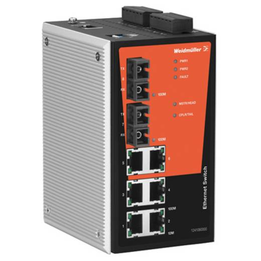 Industriële switch managed Weidmüller IE-SW-PL08M-6TX-2ST Aantal ethernet-poorten 6